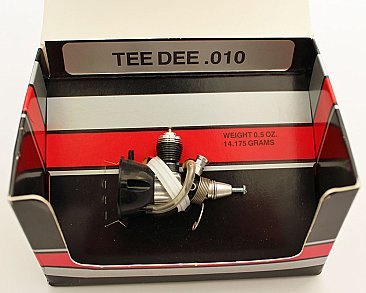 #37 Cox .010 Tee Dee Engine (Cox Box)
