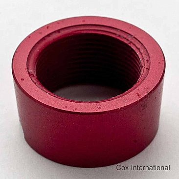 Cox .049 / .051 Collet / Retainer Nut - Red