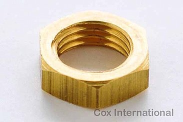 Cox .050 TD RC Spray Bar Lock Nut - OEM